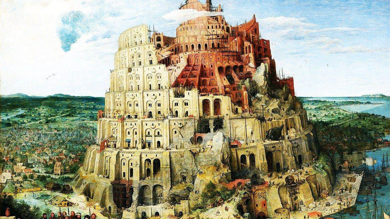 Babel by Pieter Bruegel