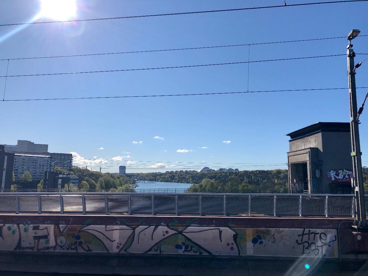 Tanto bridge during morning run.