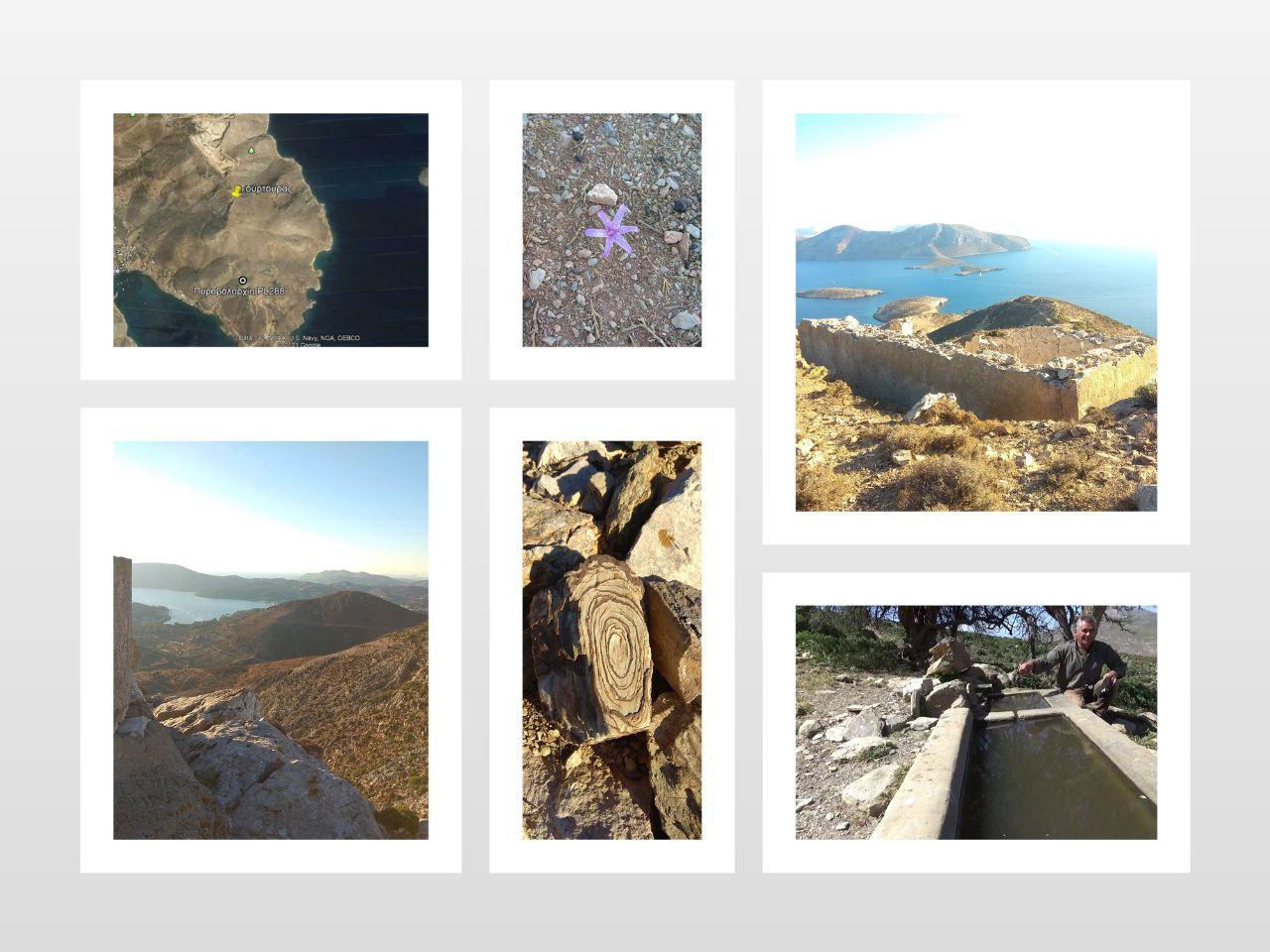 Κολάζ φωτογραφιών από την επίσκεψή μας στον Τούρτουρα