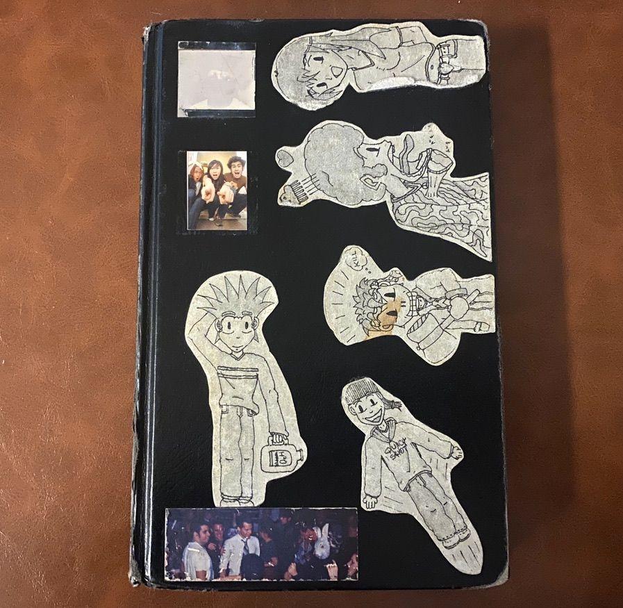 Grade School Poetry and Art Sketchbook