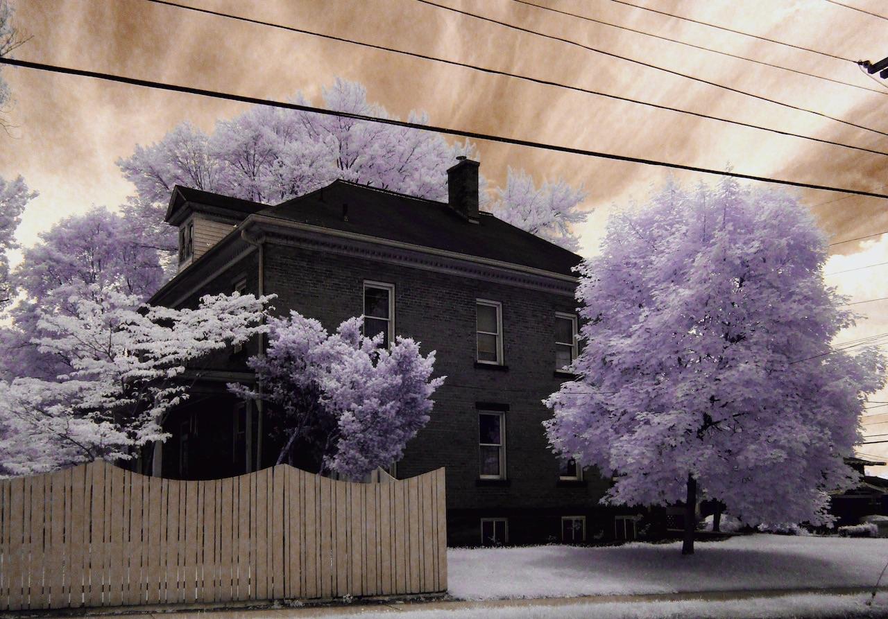 Exterior shot of a house