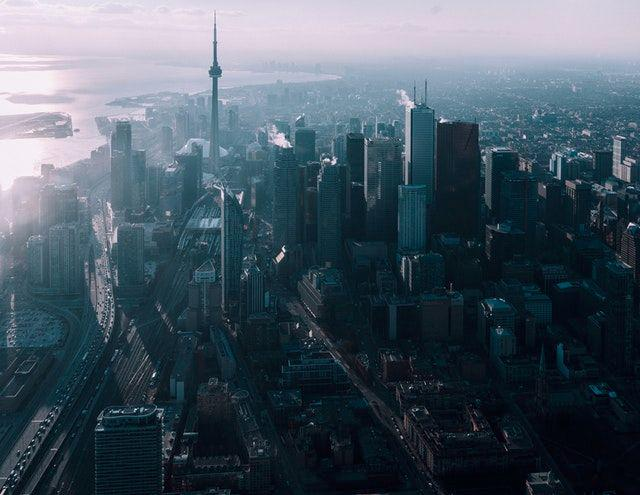 A view of Toronto, the city in which I grew up