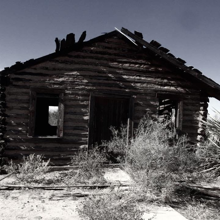 The old scout shack in Texon, TX