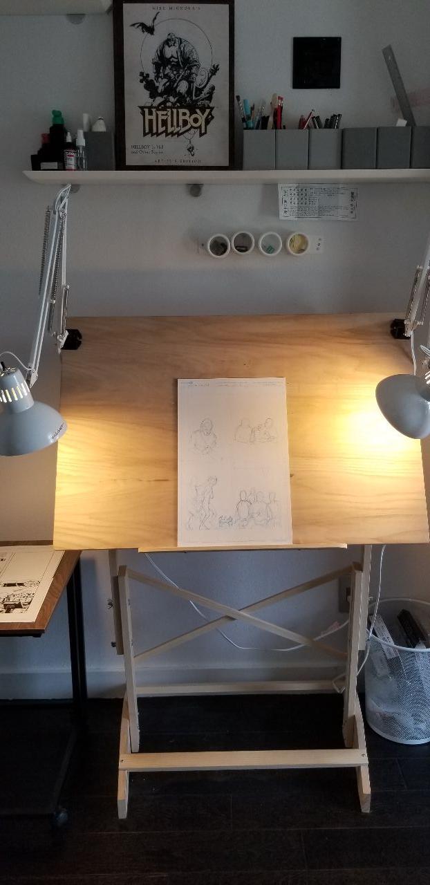Dafting Table