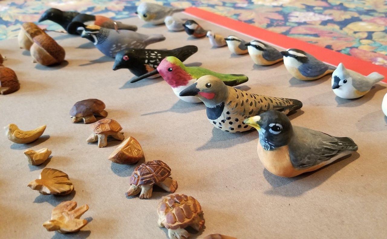 birds row
