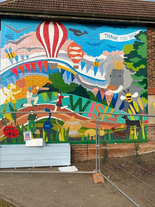 Wish Park Mural