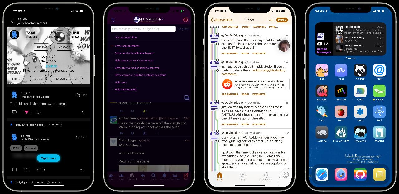 Mastodon iOS Apps Surveyed