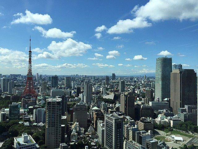 Tokyo, from above
