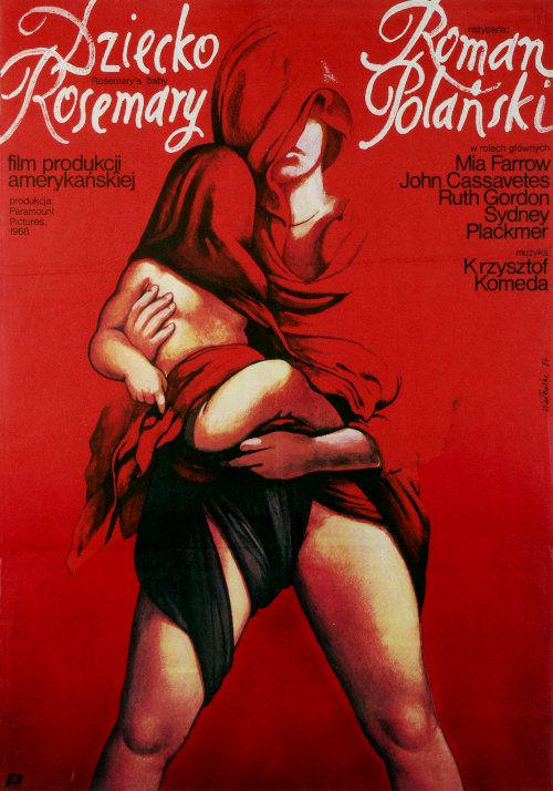 ROSEMARY'S BABY Polish Film Poster