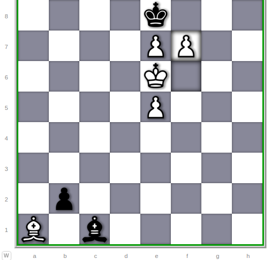 Mate by Pawn
