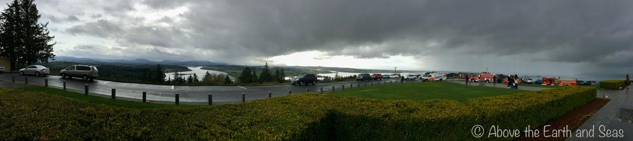 Panorama by the Astoria Column