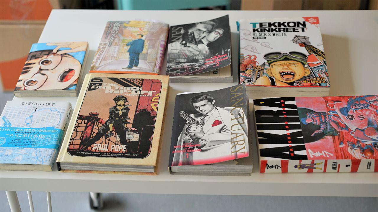 All the Manga