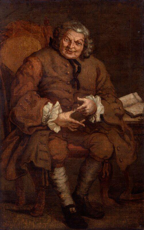 Simon, Lord Lovat by Hogarth, 1746