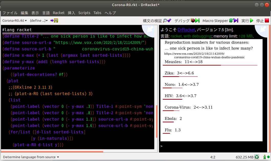 DrRacket Screenshot