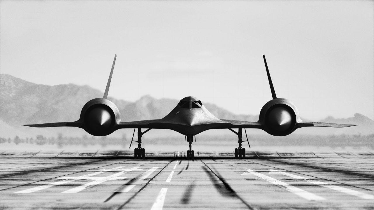 Fast plane.