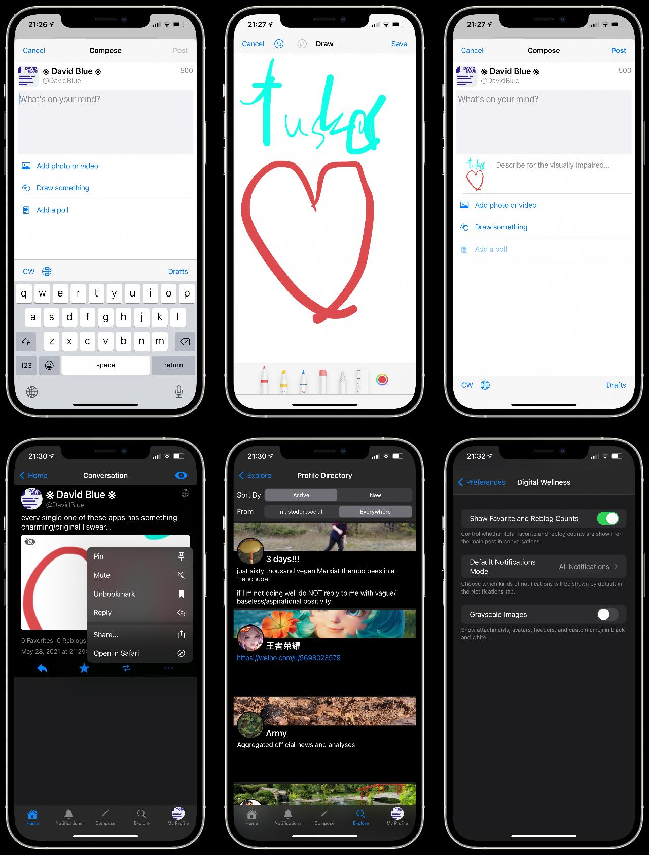 Tusker on iOS