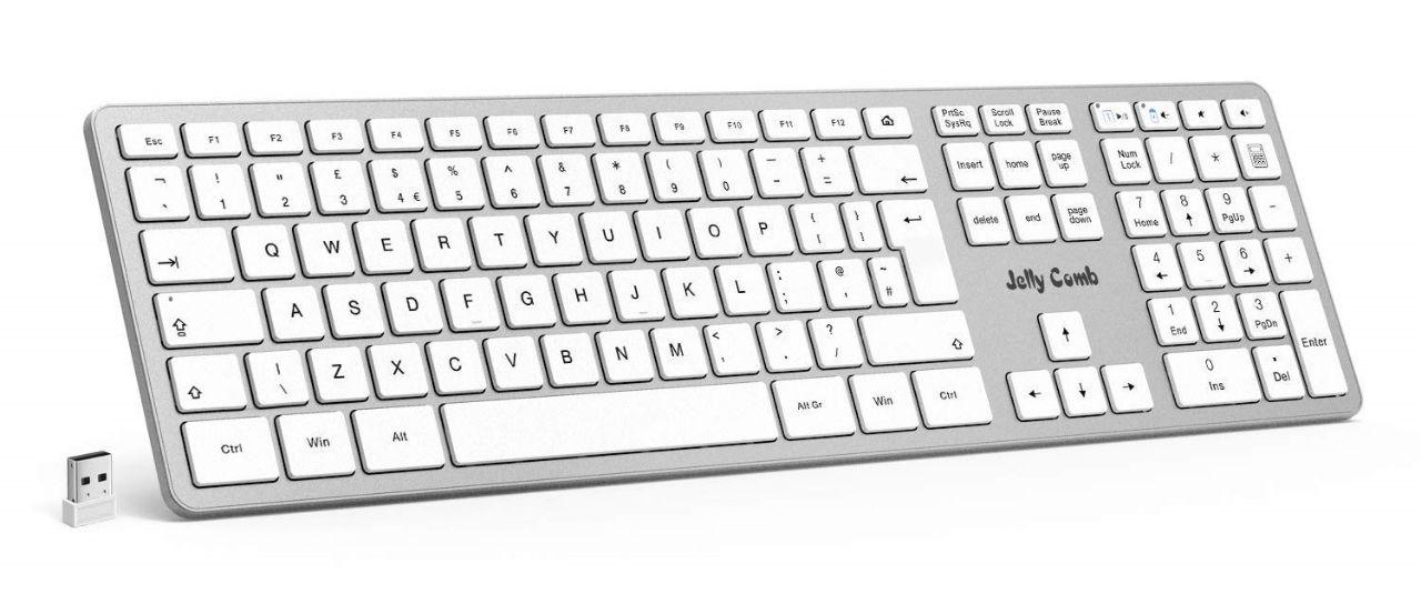 Jelly Comb Wireless Keyboard