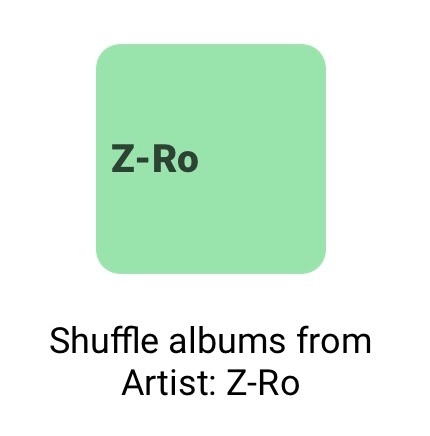 The ZRo Button - Albums App