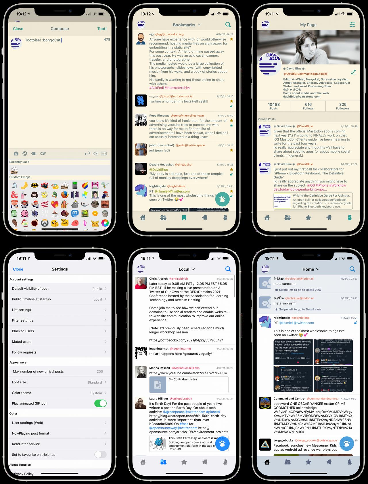 Tootoise for iOS