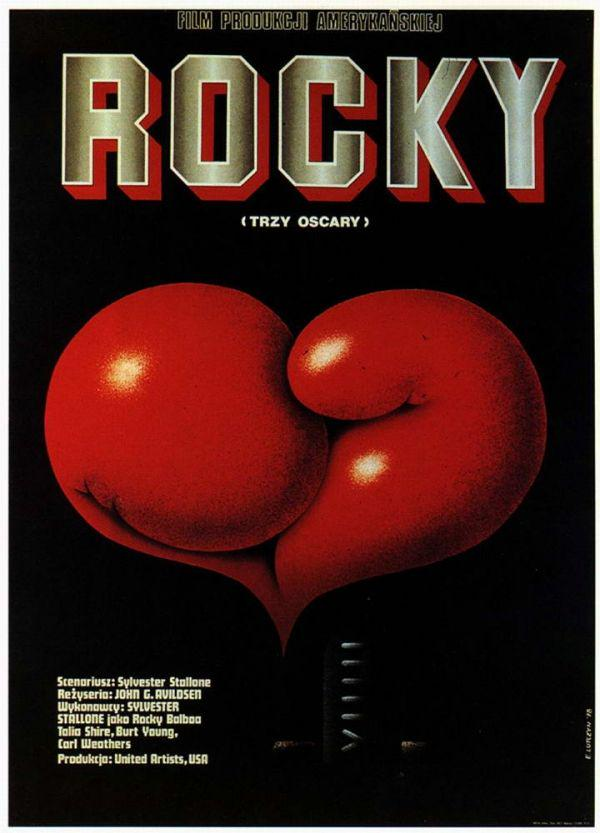 ROCKY Polish Film Poster
