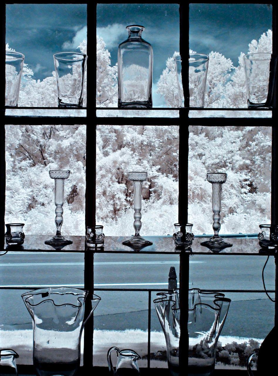 Glassware in store