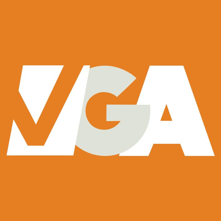 Modern VGA Logo Orange