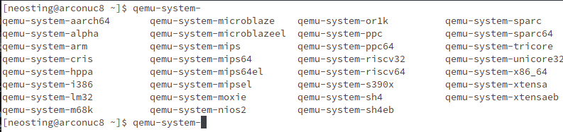qemu-system