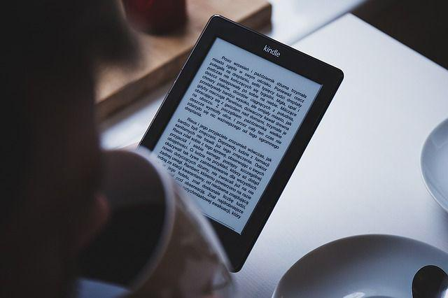Reading with an ereader