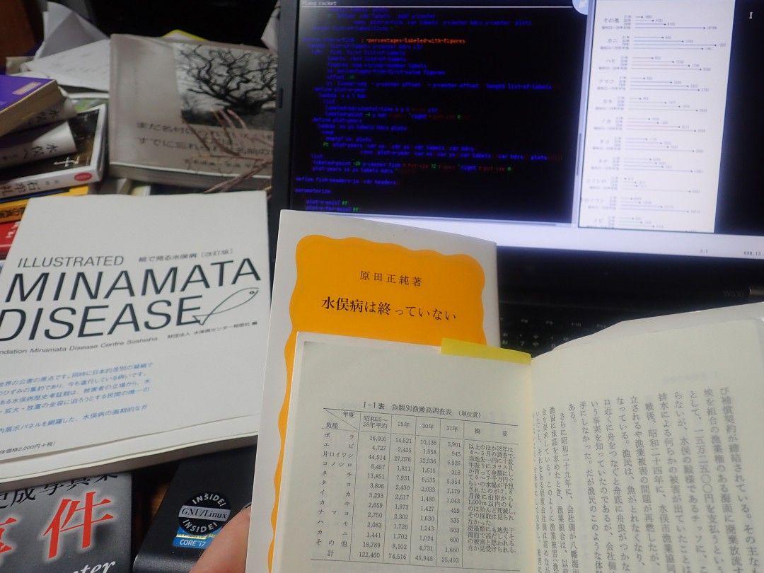 Ui Jun's book and bsmall2's computer