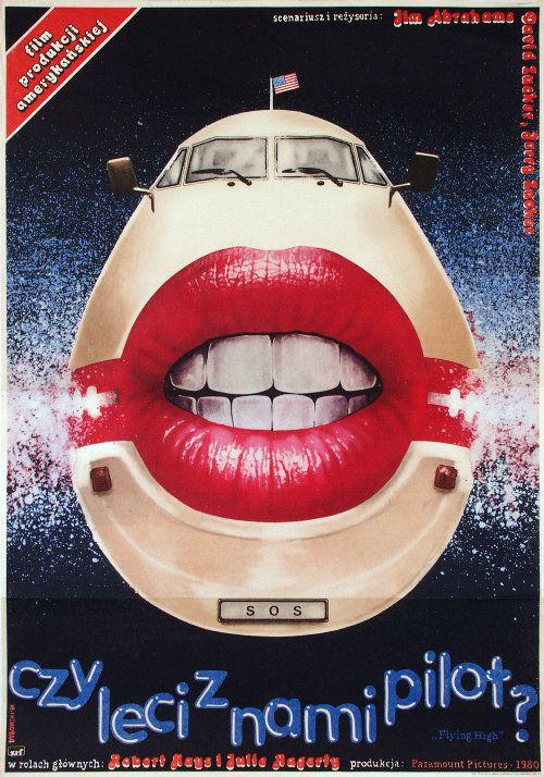 AIRPLANE Polish Movie Poster