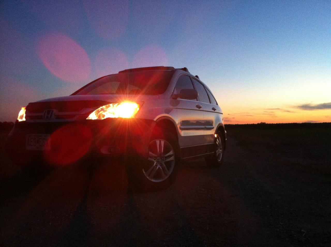 CR-V Sunset