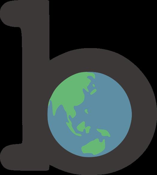 The blakeearth logo