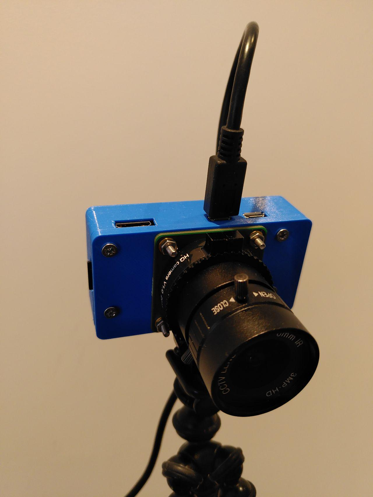 DIY Webcam made with Raspberry Pi