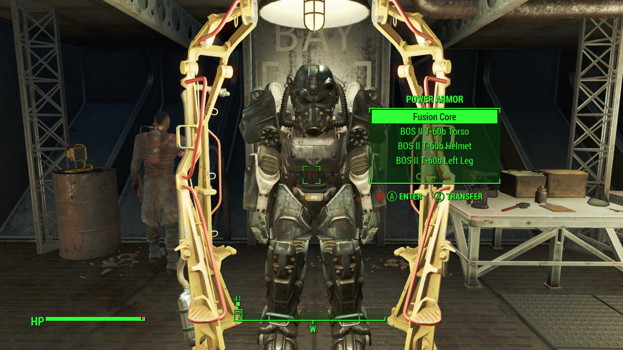 Fallout 4 BoS Power Armor