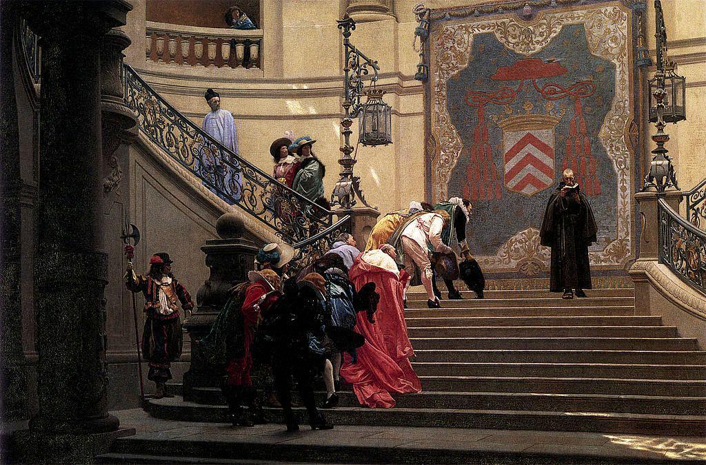 François Leclerc du Tremblay painted in 1873 by Jean-Léon Gérôme.
