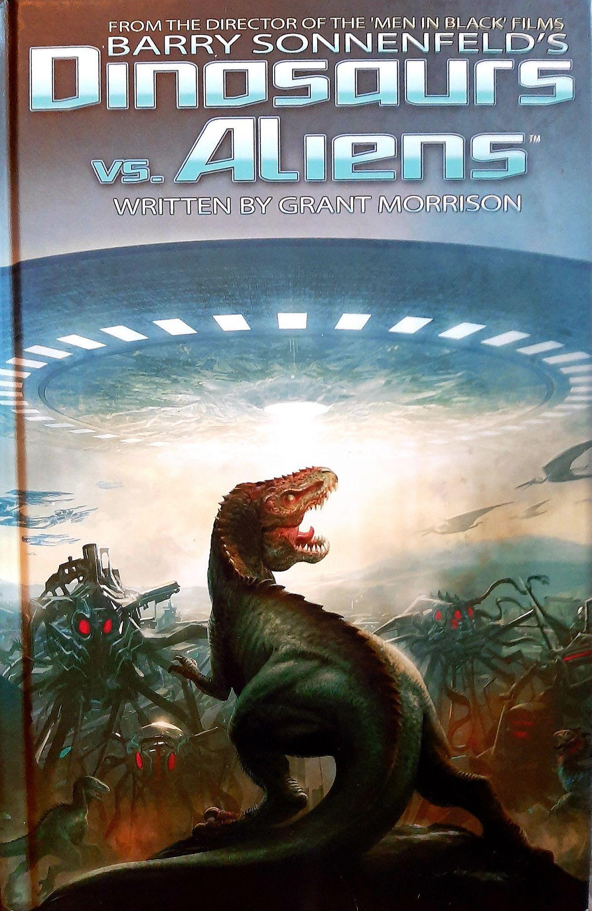 Couverture Dinosaurs VS Aliens