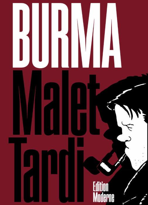 malet tardi nestor burma comic cover
