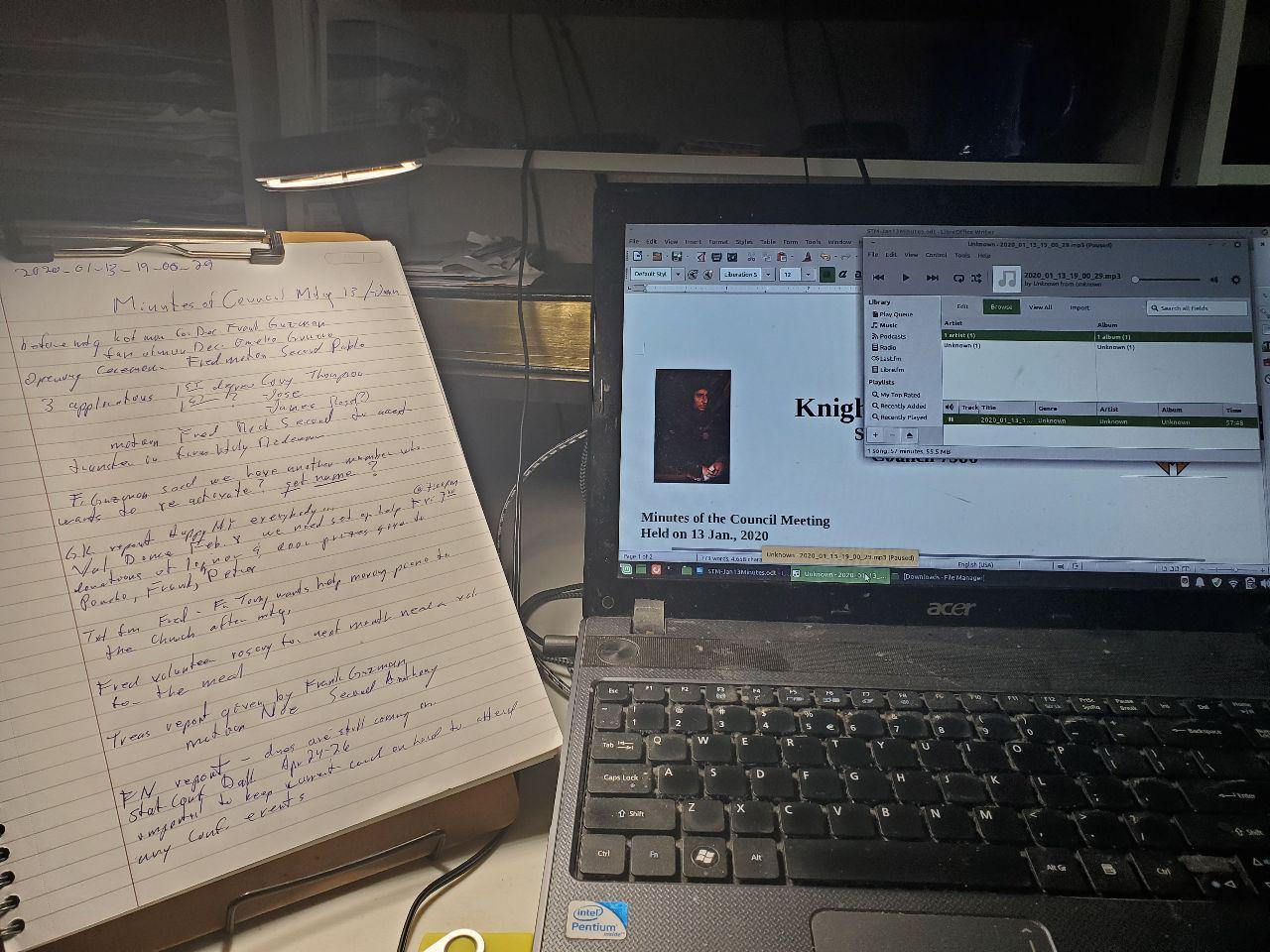 Ready to transcribe