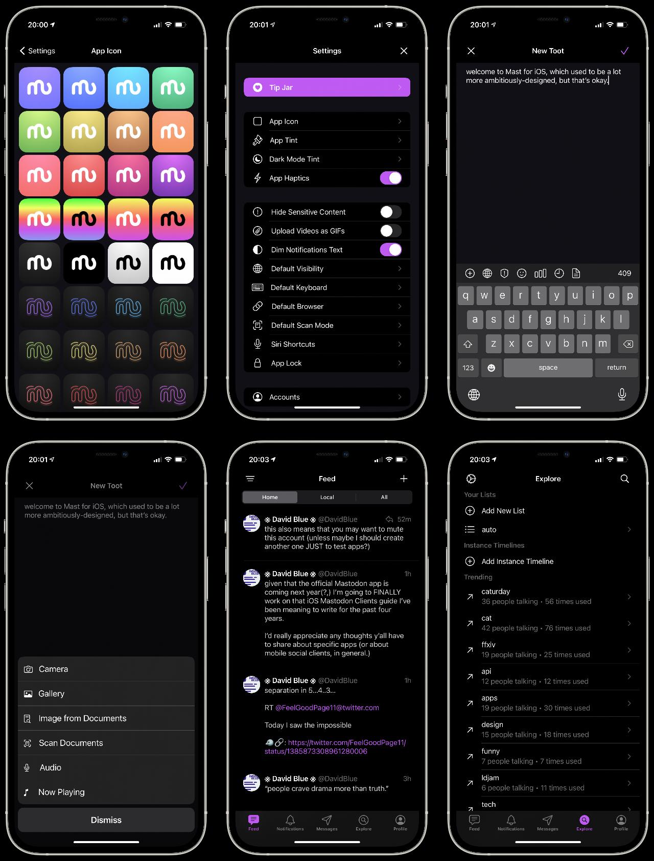 Mast for iOS