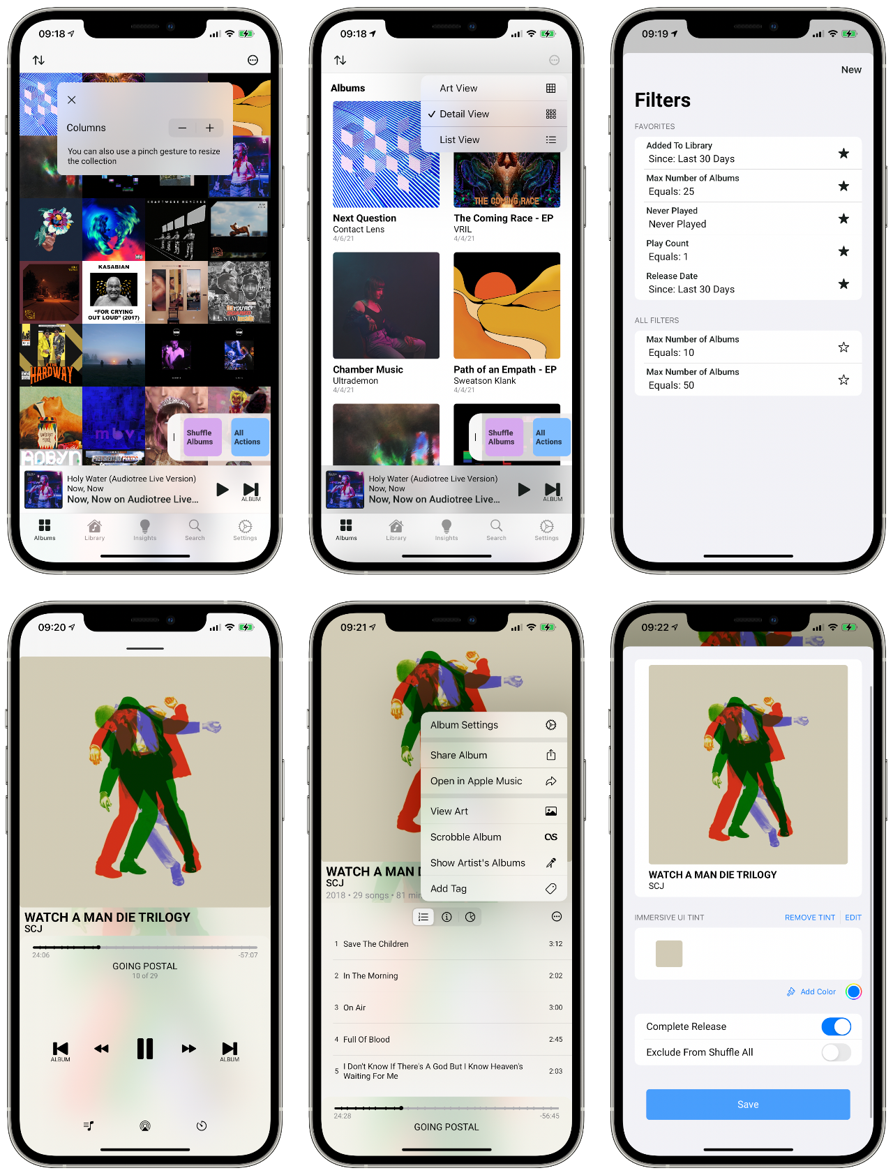 Albums for iOS