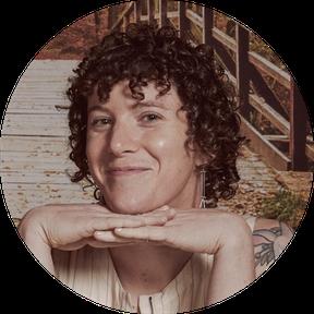 Virginia Bauman's cheeseball headshot