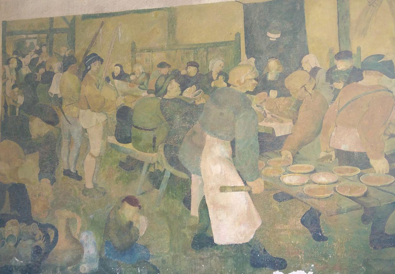 Μία ακόμα ζωγραφιά στους τοίχους της πυροβολαρχίας