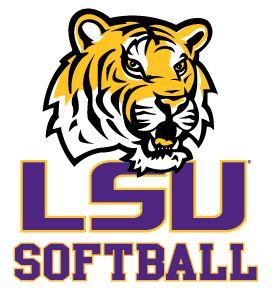 LSU softball logo