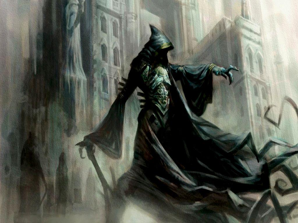 A Wraith Pointing Imperiously