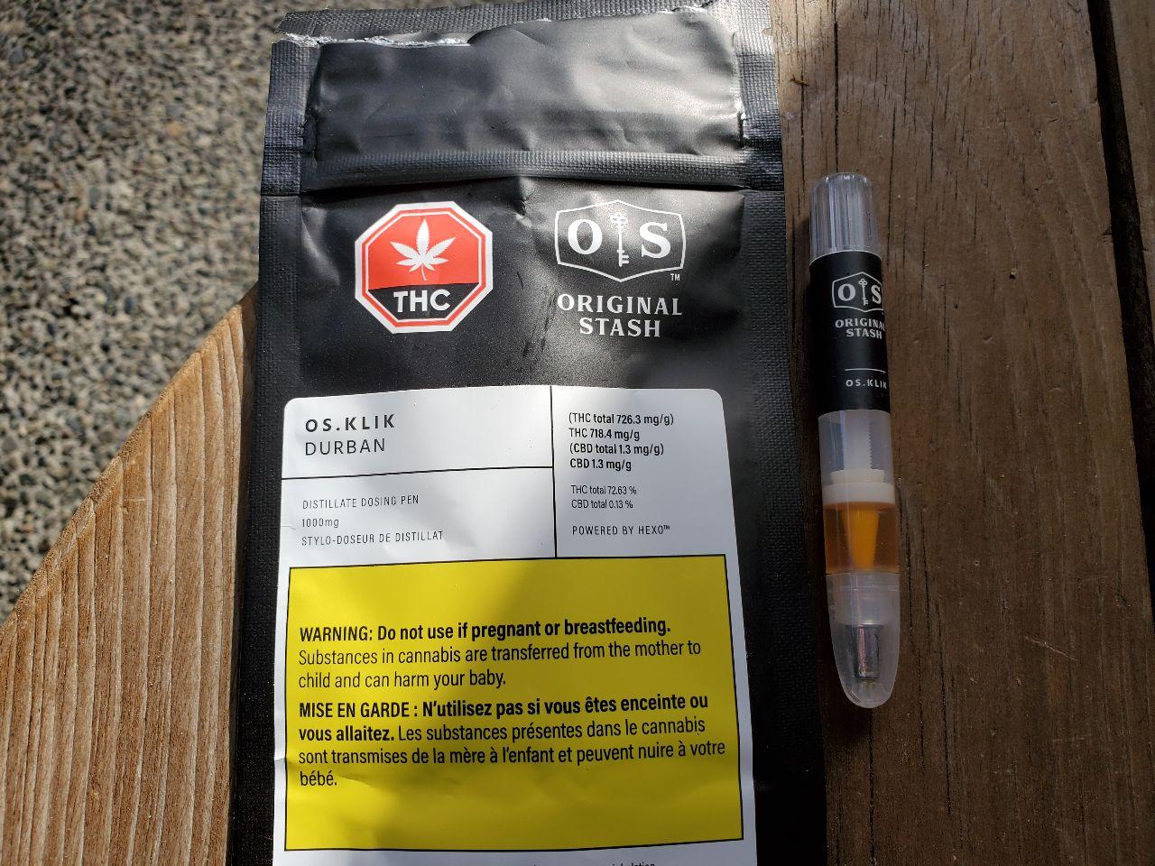 OS Klik Durban packaging