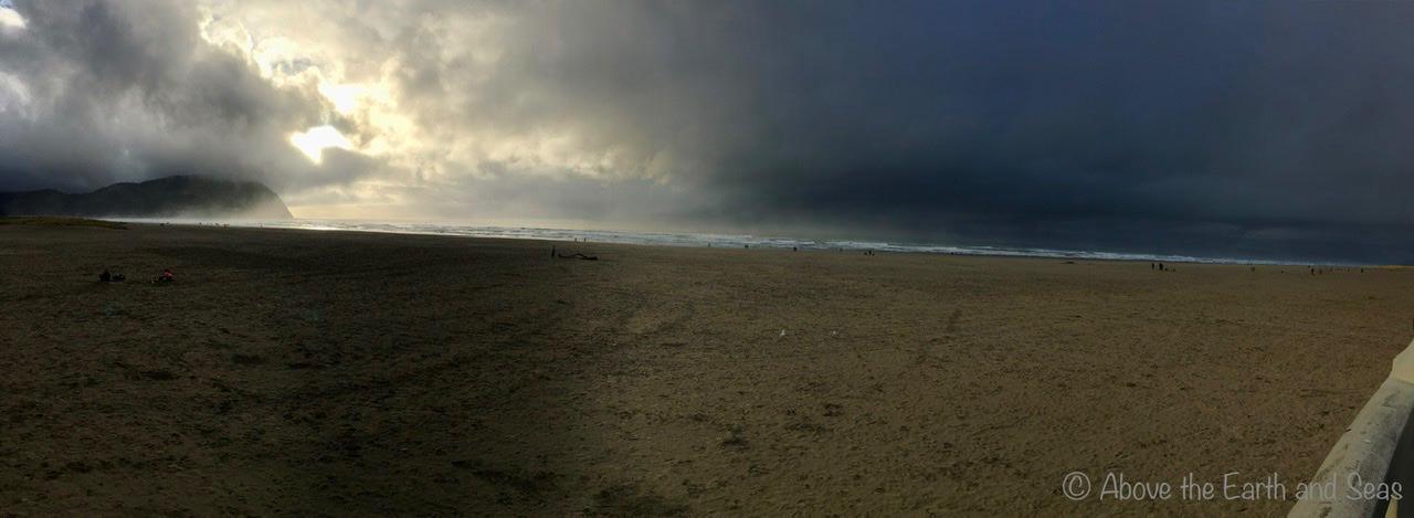 Seaside, Oregon - Panorama