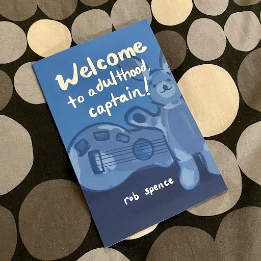 Welcome to Adulthood, Captain! Paperback Cover