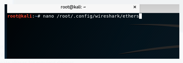 Kali-Linux WiresharkProfile
