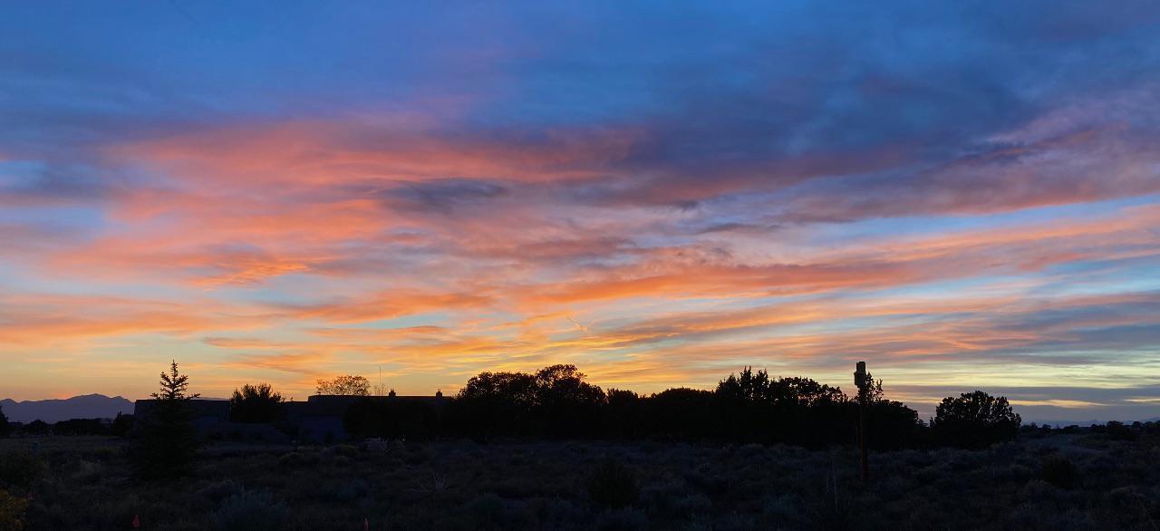 Sunset over Eldorado at Santa Fe