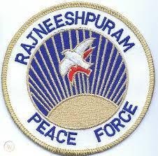 Rajneeshpuram Peace Force Logo